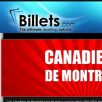 Thumbnail of Billets.com website