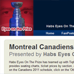 Thumbnail of Habs Eyes On The Prize website