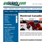 Thumbnail of gotickets.com website