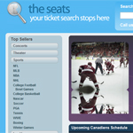 Thumbnail of TheSeats website