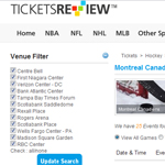 Thumbnail of Ticketreview website